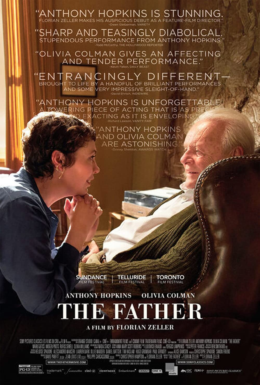 The Father 2021 English 720p HDRip 796MB | 300MB Download