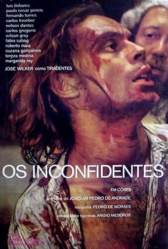 """IMDB: Cartaz do filme """"Os Inconfidentes"""" com José Wilker"""