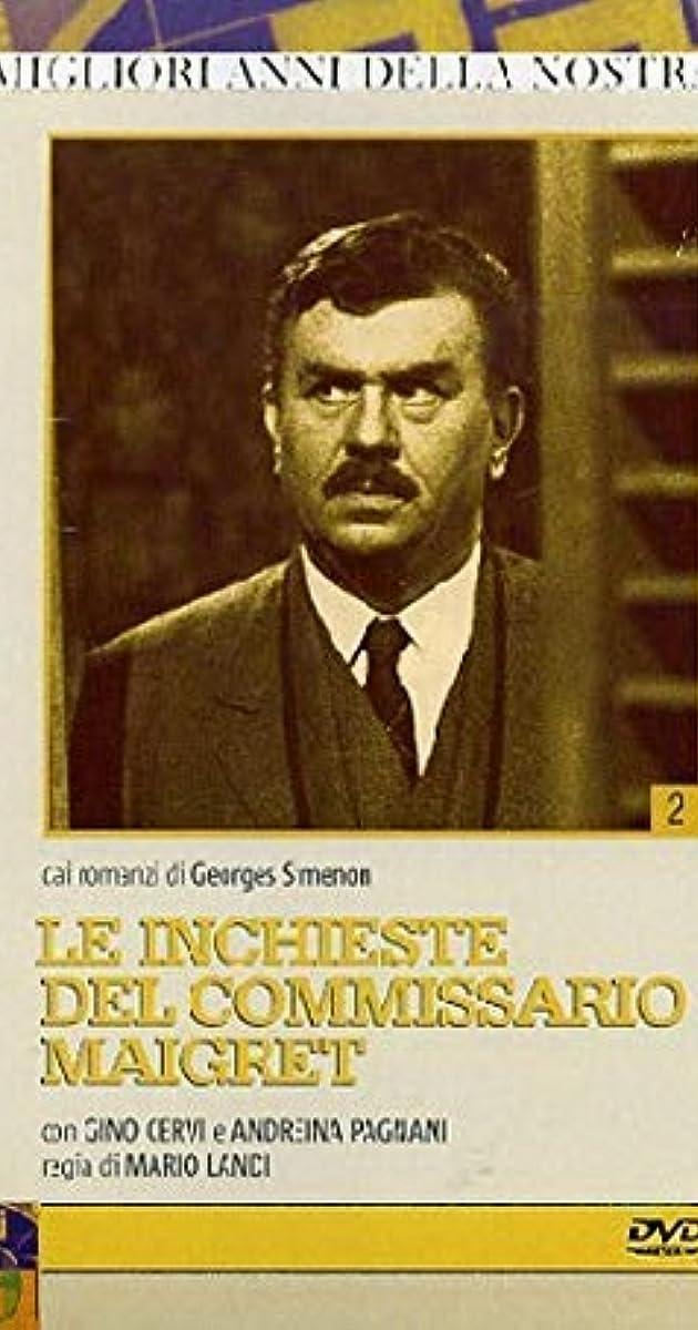 Le inchieste del commissario Maigret (TV Series 1964