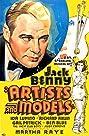 Artists & Models (1937) Poster