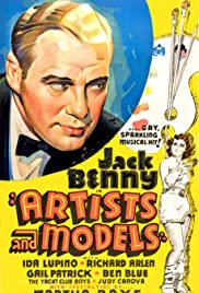 Artist and Models (1937) Poster - Movie Forum, Cast, Reviews