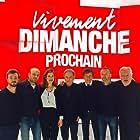 Emmanuelle Devos, Michel Drucker, and Alain Souchon in Vivement dimanche prochain (1998)