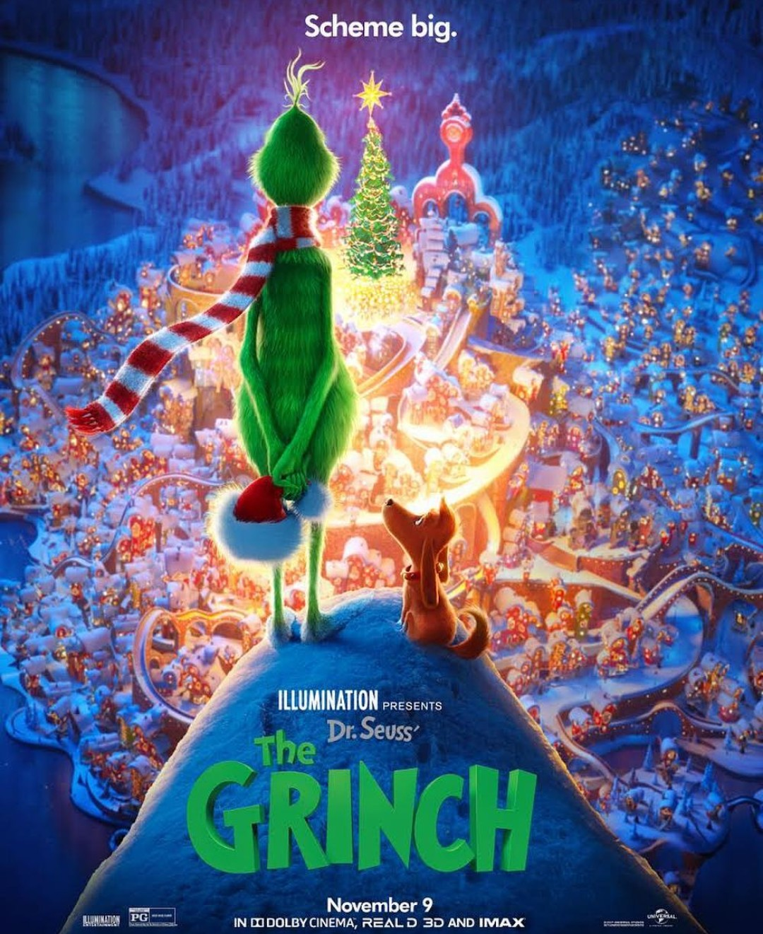 Dr. Seuss' the Grinch (2018) BluRay Dual Audio [Hindi – E