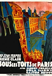 Under the Roofs of Paris Poster