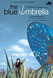 The Blue Umbrella Poster