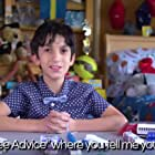 """Each week on """"Free Advice"""" 11 year-old stand-up comedian Adam Chernick helps conflicted and confused adults solve their real world problems using just his humor, honesty and heart."""