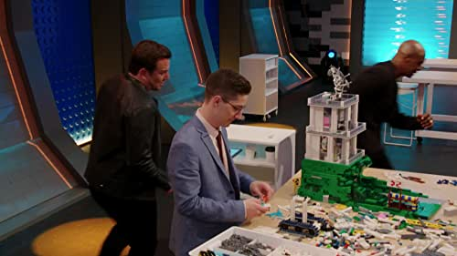 Lego Masters: Terry Crews Pumps Up The Competition