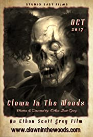 Clown in the Woods Poster