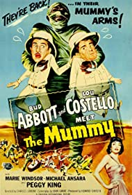 Abbott and Costello Meet the Mummy (1955) Poster - Movie Forum, Cast, Reviews