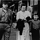 Bobby Driscoll, Barbara Hale, and Arthur Kennedy in The Window (1949)