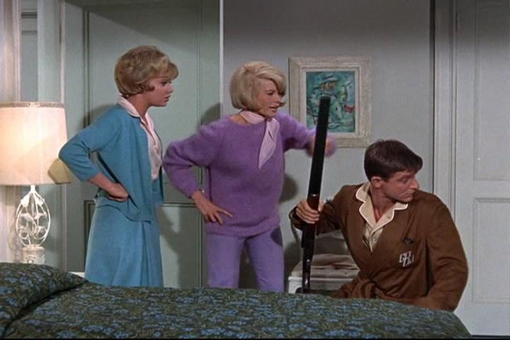 Roddy McDowall, Hayley Mills, and Dorothy Provine in That Darn Cat! (1965)