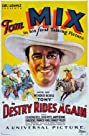Destry Rides Again (1932) Poster