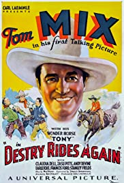 Destry Rides Again (1932) starring Tom Mix on DVD on DVD