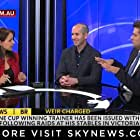 Rita Panahi, Stephen Drill, and Gideon Rozner in The Friday Show (2015)