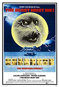 Peter Cushing, Michael Gambon, Tom Chadbon, Marlene Clark, Anton Diffring, Charles Gray, Calvin Lockhart, and Ciaran Madden in The Beast Must Die (1974)