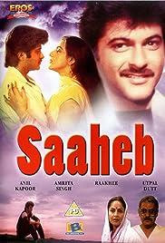 Saaheb(1985) Poster - Movie Forum, Cast, Reviews
