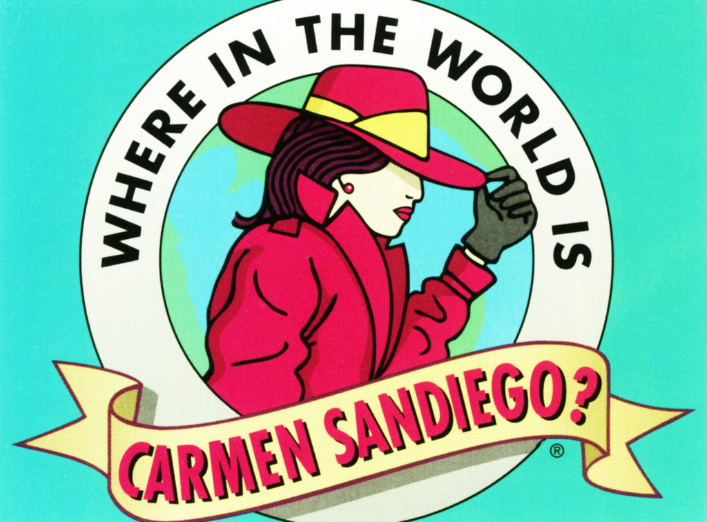 Image result for where in the world is carmen sandiego