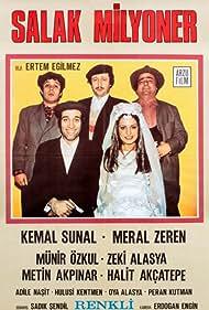 Halit Akçatepe, Metin Akpinar, Zeki Alasya, Kemal Sunal, and Meral Zeren in Salak Milyoner (1974)