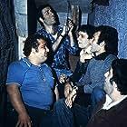 Halit Akçatepe, Kemal Sunal, Cem Gürdap, Feridun Savli, and Cengiz Nezir in Hababam Sinifi Uyaniyor (1977)