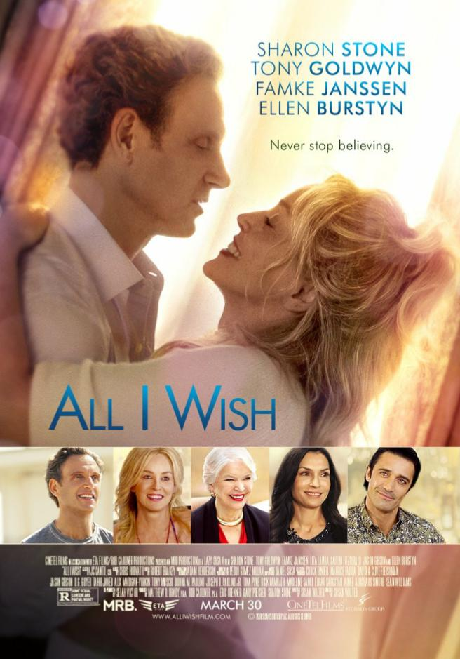 Sharon Stone, Famke Janssen, Ellen Burstyn, Tony Goldwyn, and Gilles Marini in All I Wish (2017)