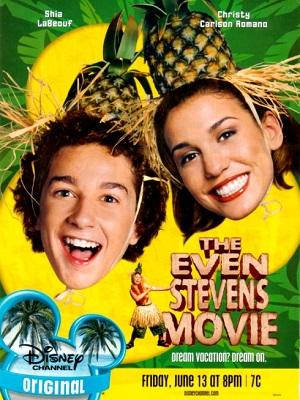 Where to stream The Even Stevens Movie