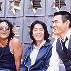 Kazuhiko Hasegawa, Kenji Sawada, and Bunta Sugawara in Taiyô wo nusunda otoko (1979)