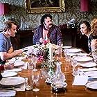 Anna Chancellor, Ivan Kaye, Tony Way, Rachel Hurd-Wood, Robert Kazinsky, Samantha Barks, and Tanya Reynolds in The Revenger: An Unromantic Comedy (2019)