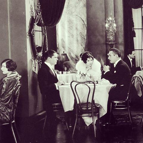 Lew Cody, Marceline Day, and Malcolm McGregor in The Gay Deceiver (1926)
