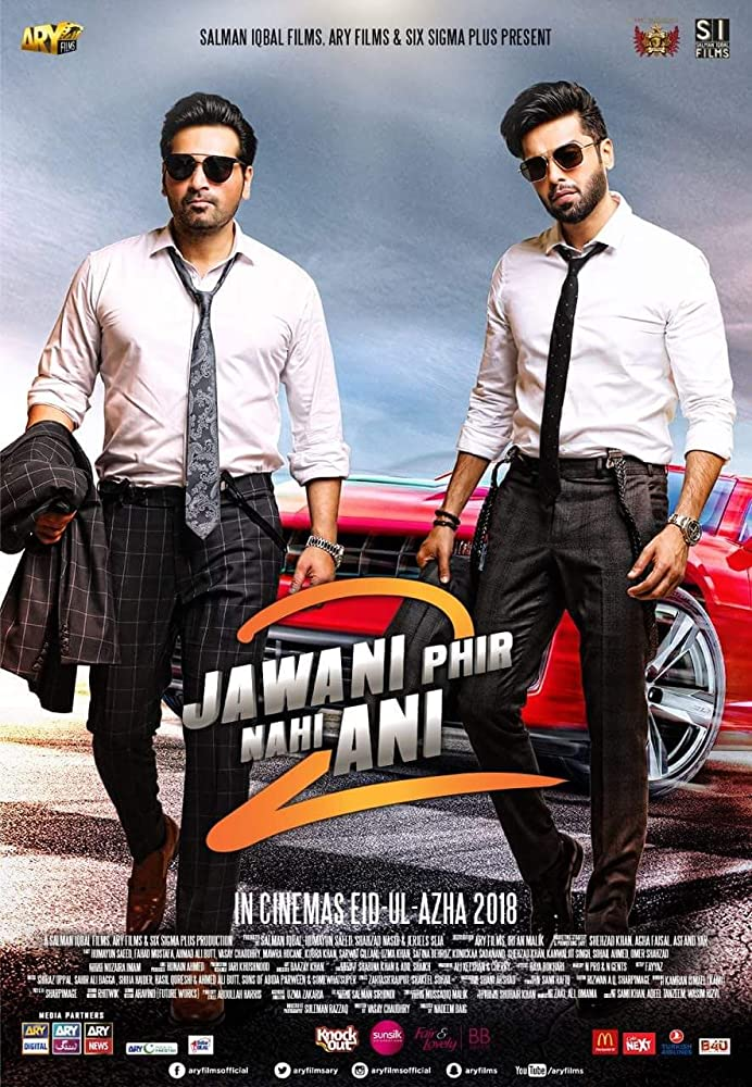 Jawani Phir Nahi Ani 2 2018 In HD Pakistani Urdu 720p HDTV x264 1.2GB