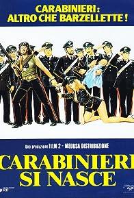 Primary photo for Carabinieri si nasce
