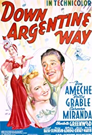 Down Argentine Way (1940) Poster - Movie Forum, Cast, Reviews