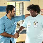 Vijay Antony and Yogi Babu in Kaali (2018)