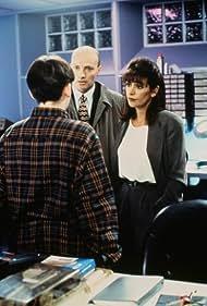 Marina Sirtis and Peter Woodward in Gadgetman (1996)