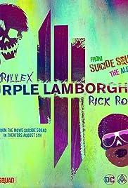 Skrillex & Rick Ross: Purple Lamborghini Poster