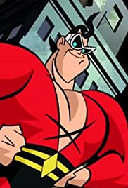 Plastic Man in 'Puddle Trouble' Poster
