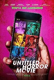 Claire Holt, Nick Simon, Katherine McNamara, Luke Baines, Timothy Granaderos, Darren Barnet, and Emmy Raver-Lampman in Untitled Horror Movie (2021)