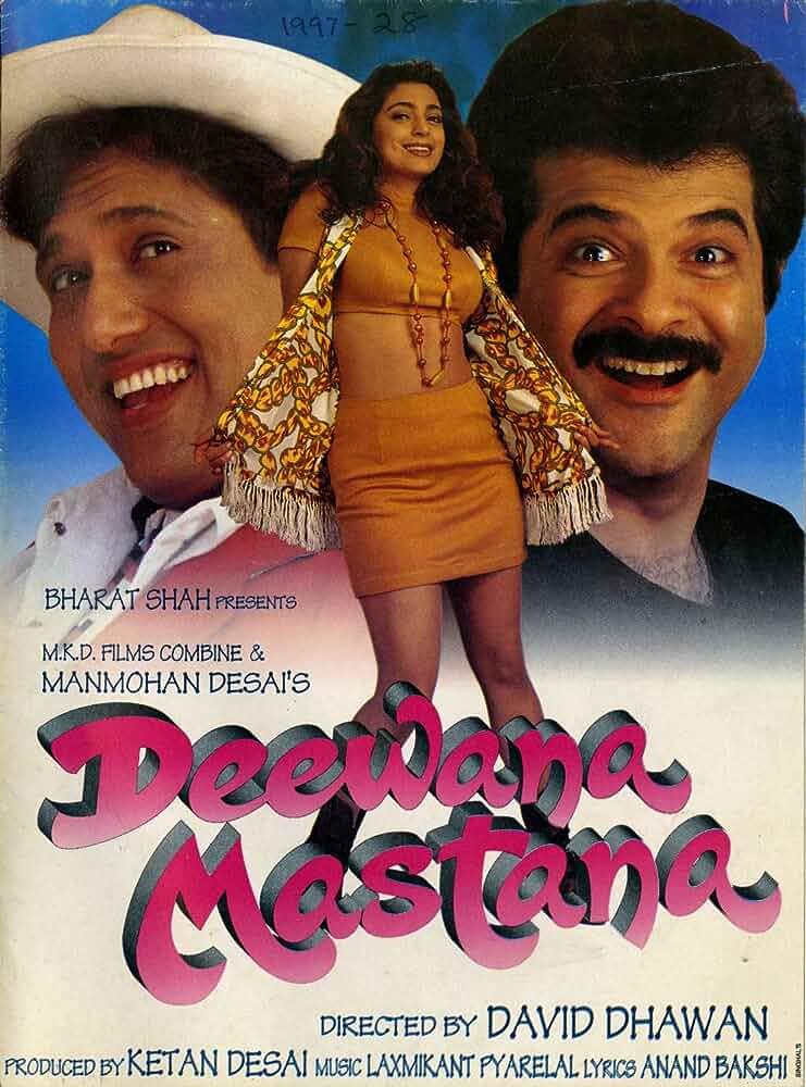Deewana Mastana (1997) Hindi Full Movie 480p
