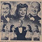 Leo Carrillo, Donna King, Leon Errol, Alyce King, Luise King, Yvonne King, Frances Langford, and Alvino Rey in Follow the Band (1943)