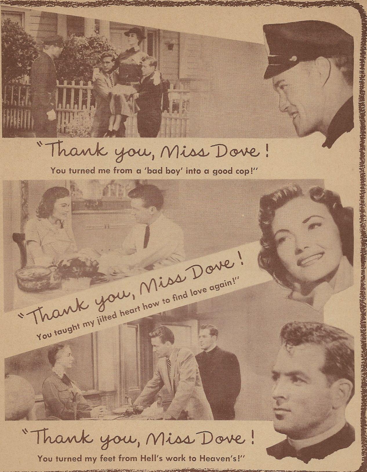 Biff Elliot, Jennifer Jones, Peggy Knudsen, Robert Stack, and Mary Wickes in Good Morning, Miss Dove (1955)
