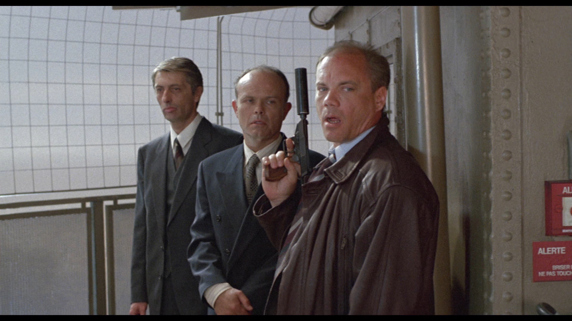 Kurtwood Smith and Daniel von Bargen in Company Business (1991)