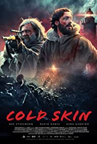 Ray Stevenson and David Oakes in Cold Skin (2017)