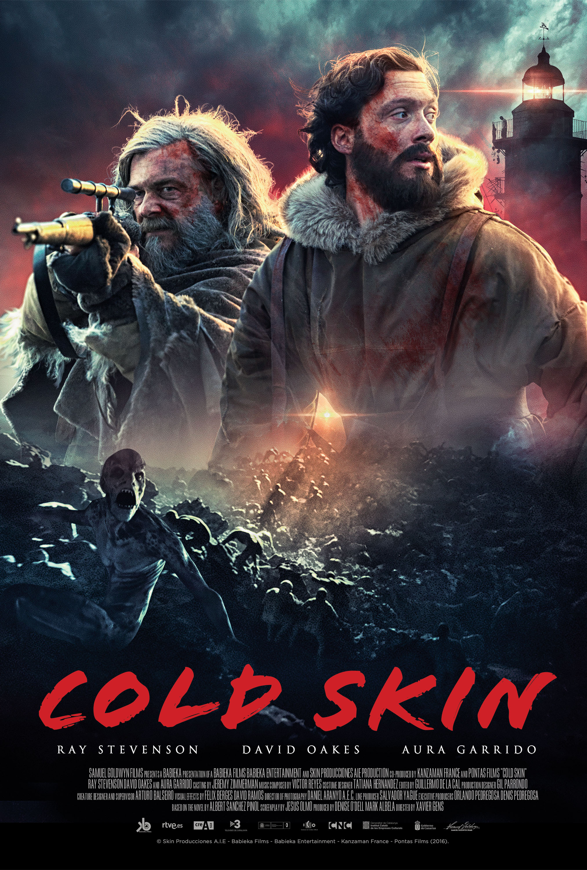 Cold Skin (2017) BluRay 480p, 720p & 1080p