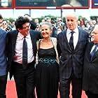 Daniele Ciprì, Giacomo Civiletti, Aurora Quattrocchi, Toni Servillo, and Fabrizio Falco in È stato il figlio (2012)