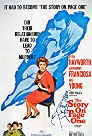 The Story on Page One (1959) Poster - Movie Forum, Cast, Reviews