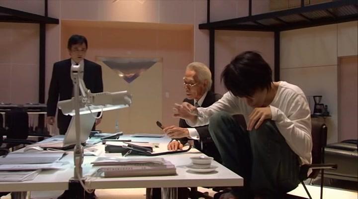 Shunji Fujimura, Ikuji Nakamura, and Ken'ichi Matsuyama in Death Note - Desu nôto: The Last Name (2006)