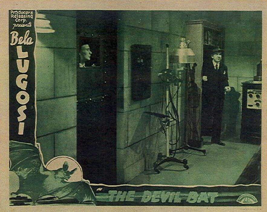 Bela Lugosi and Edmund Mortimer in The Devil Bat (1940)