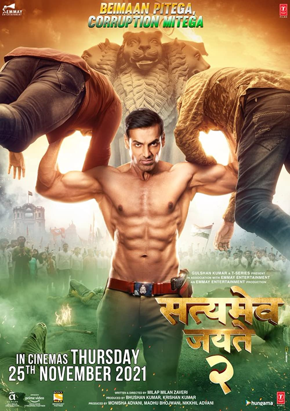 Satyameva Jayate 2 (2021) Hindi Movie 720p HDRip 1.2GB Download
