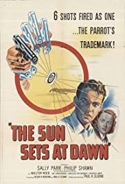 The Sun Sets at Dawn Poster