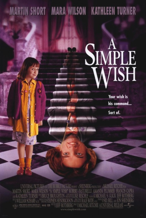 Martin Short and Mara Wilson in A Simple Wish (1997)