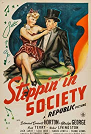 Steppin' in Society Poster